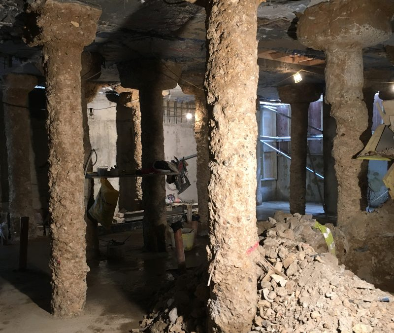 BASEMENT: Successful planning application in Chelsea