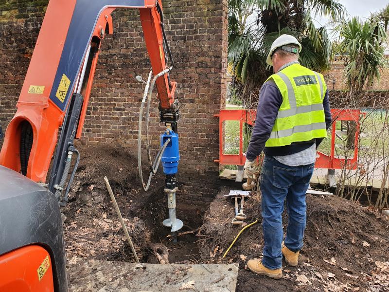 PUBLIC SECTOR: Works to Dutch Garden in Holland Park