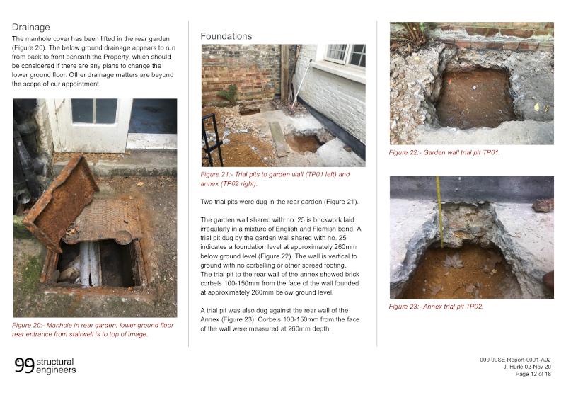 Structural Report Excerpt